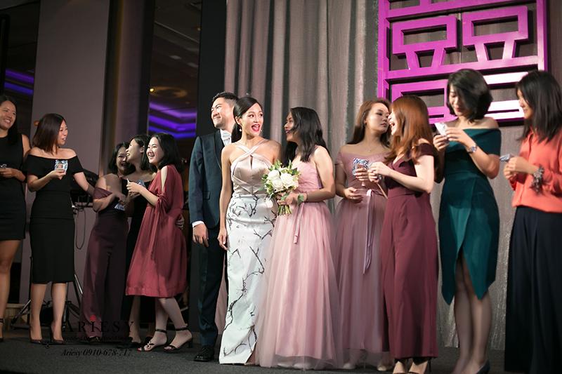 明星新娘造型,ariesy,時尚新娘髮型,愛瑞思,新娘油頭,黑髮新娘馬尾造型