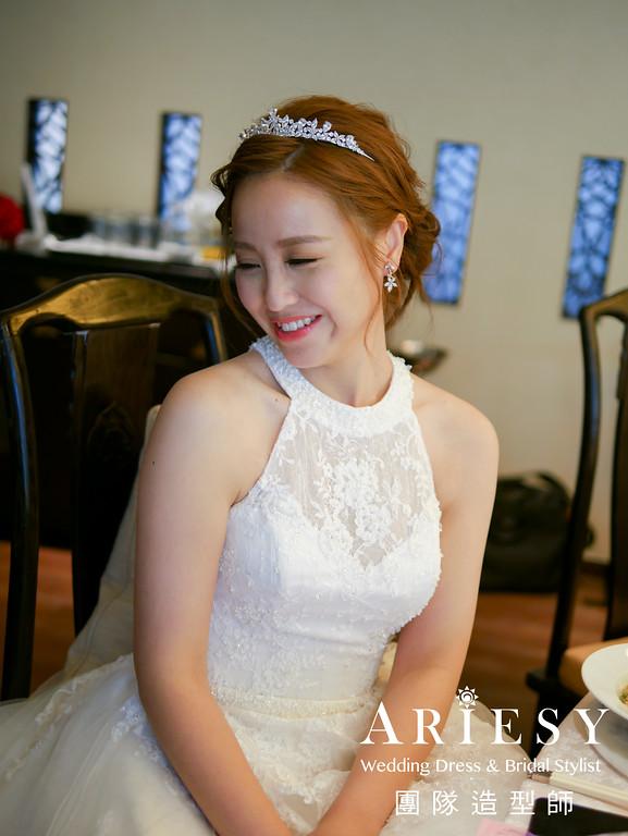 白紗髮型,歐美新娘髮型,新娘髮型,新娘秘書,皇冠造型