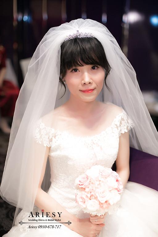 日系新娘秘書,頭紗新娘造型,新娘秘書,新秘,台北新秘,愛瑞思