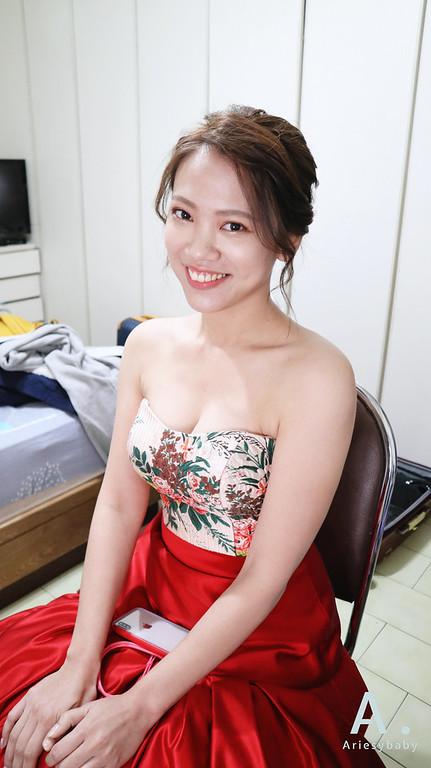 Ariesybaby造型團隊,新娘造型,台北新祕,新娘造型,自然乾淨妝感,新娘髮型