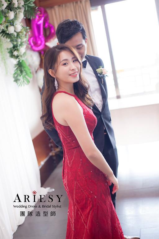 台北新祕,新娘秘書,新娘造型,編髮新祕,時尚新娘造型,自然清透妝感,新娘髮型,編髮造型,送客造型,紅禮服