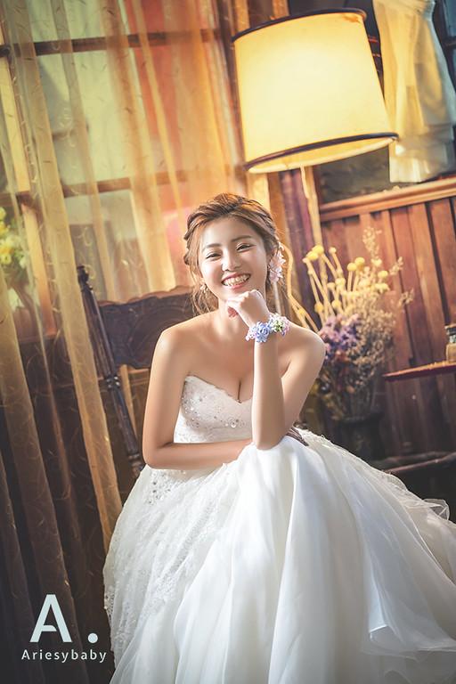 白紗盤髮造型,Ariesybaby新秘團隊,新娘秘書,新秘作品,新娘髮型