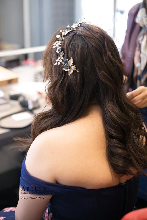 新娘造型,花布禮服,新秘,新娘秘書,台北新秘,新莊晶宴婚禮,新娘造型