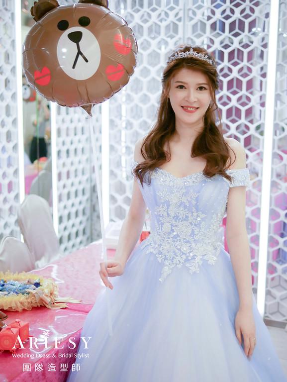 敬酒造型,新娘編髮,新娘妝感,編髮公主頭,台北新秘推薦