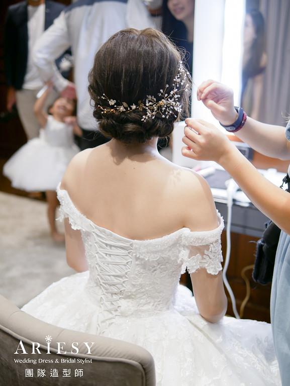 進場髮型,編髮造型,新秘,新娘髮型,新秘推薦