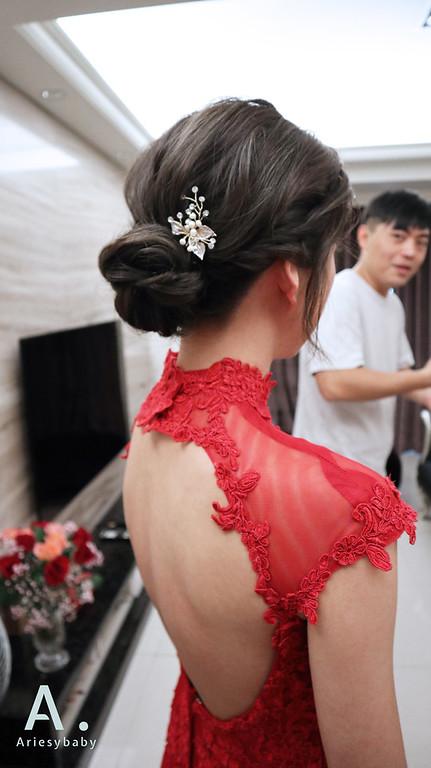 Ariesybaby造型團隊,新祕,新娘秘書,新娘造型,自然乾淨妝感,新娘髮型