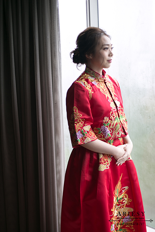 文定秀禾服,晶華酒店婚禮,韓風新娘,愛瑞思,新娘秘書,新秘