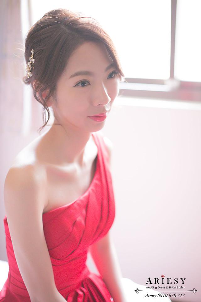新娘秘書推薦,鮮花編髮,韓風髮型,新娘髮型,台北新秘,文定造型