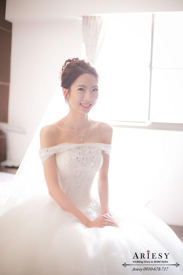 白紗造型,鮮花編髮,韓風新娘,新娘髮型,台北新秘,鮮花造型