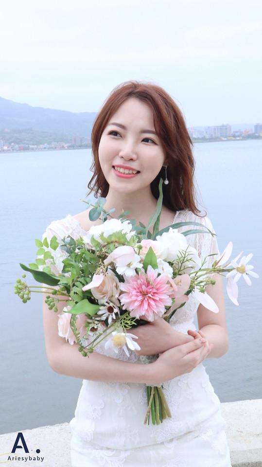 Ariesybaby造型團隊,ariesy 品牌訂製手工婚紗,新娘造型,台北新秘,韓風,輕透妝感