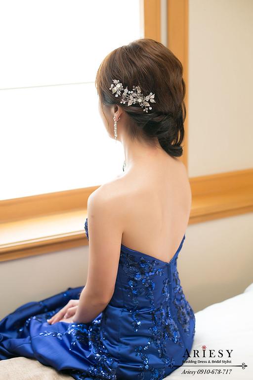 台北新秘,新娘秘書,新娘造型,新秘,鮮花造型