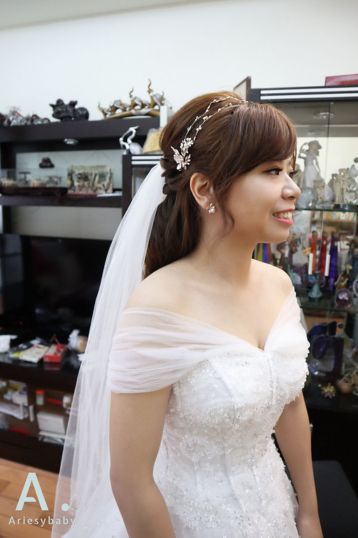 Ariesybaby造型團隊,白紗新娘造型,新祕,新娘祕書,迎娶造型