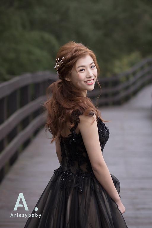 新娘秘書,新娘造型,旗袍造型,時尚造型,Ariesy愛瑞思品牌訂製手工婚紗