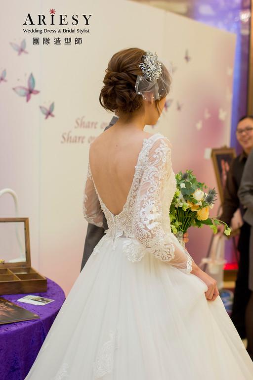 台北新秘 | 歐美線條新娘 新娘秘書作品 BRIDE 茹