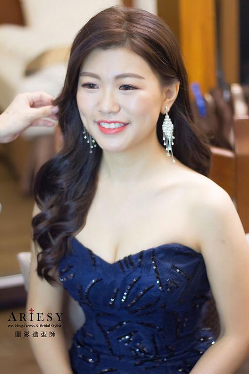 韓系新娘妝感,新娘秘書,新娘花藝造型,新秘推薦,台北新秘