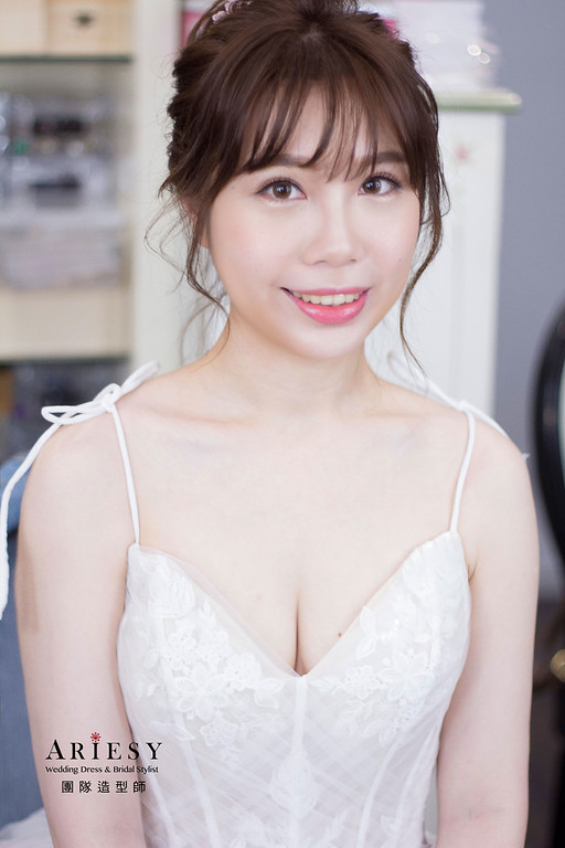 新秘,新娘秘書,花藝新娘造型,新秘推薦,台北新秘