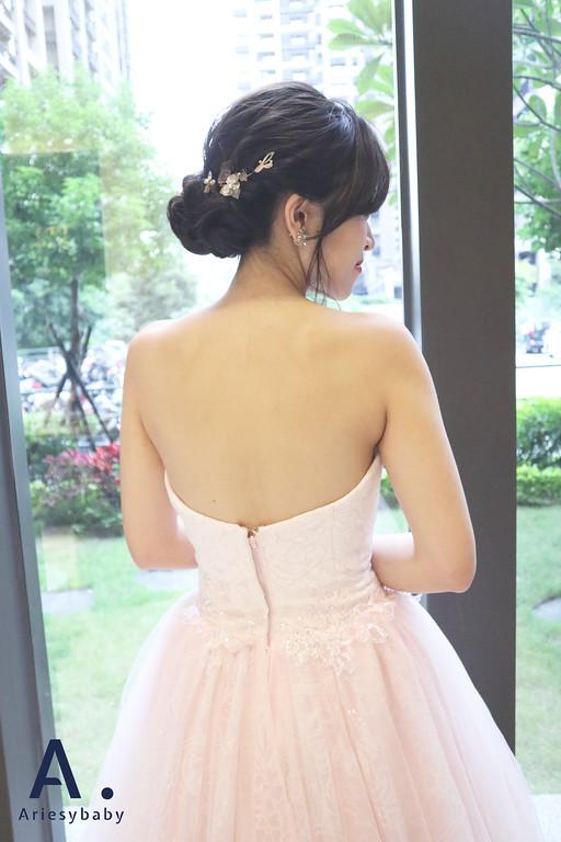 Ariesybaby造型團隊,文定新娘造型,新祕,新娘祕書,黑髮新娘