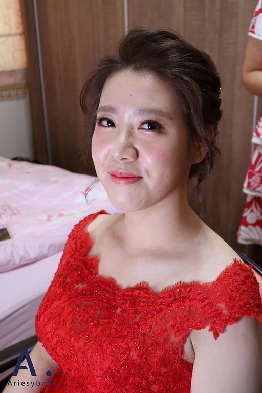 Ariesybaby造型團隊,黑髮新娘,新娘造型,新祕,新娘祕書,新娘髮型