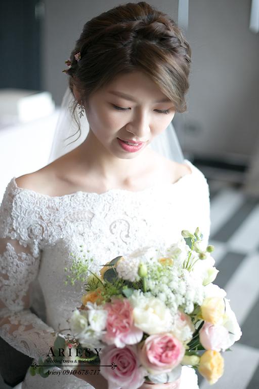 愛瑞思,新娘秘書,ariesy,台北歐美風新秘,鮮花新秘,鮮花新娘秘書