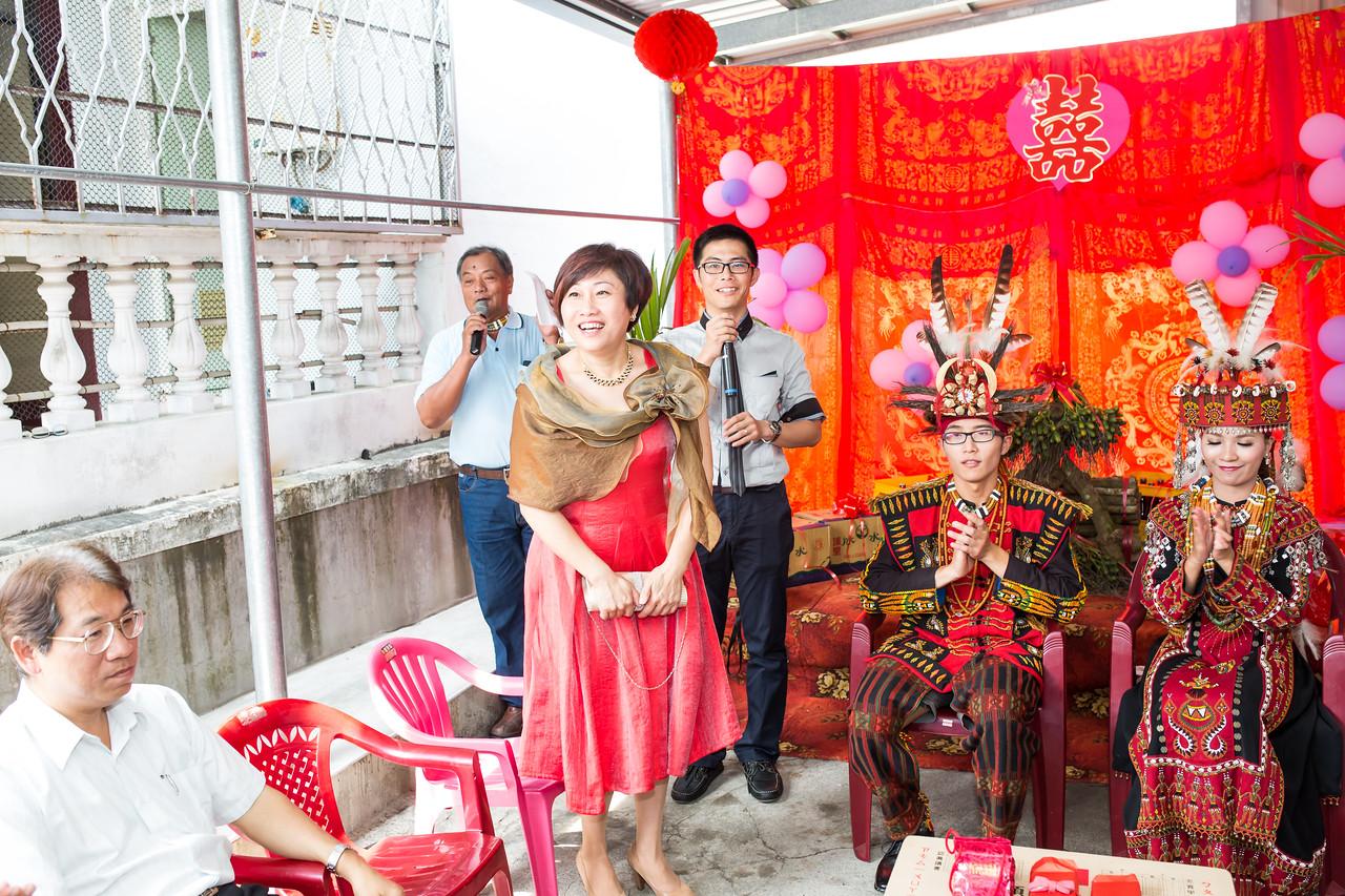 《台東婚攝》 傳統服飾下的幸福美 / 土坂部落