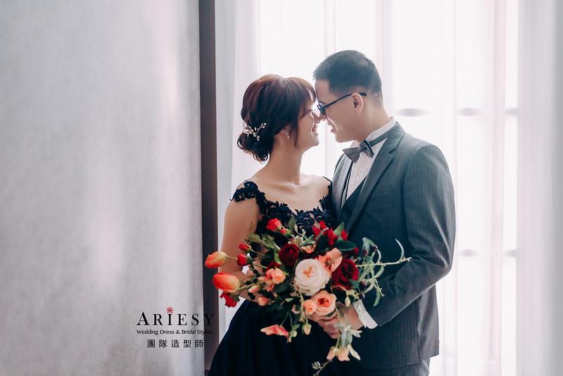 婚紗包套,新娘造型,新娘髮型,蓬鬆編髮,白紗造型,自然清透感妝,攝影師大嘴,新祕