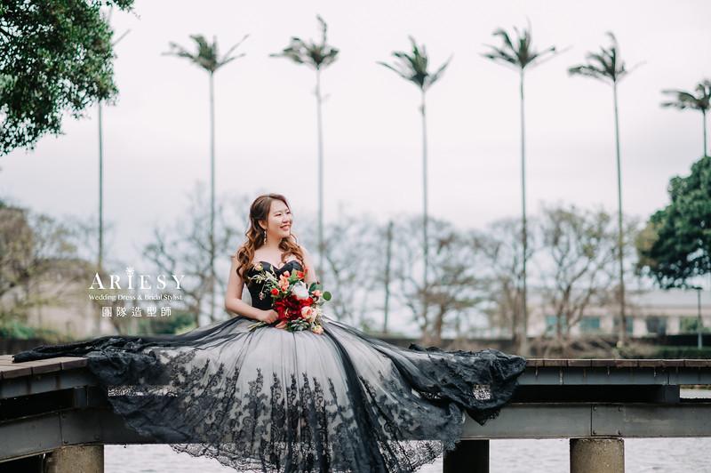 婚紗攝影,婚紗造型,白紗造型,新娘造型,婚紗包套,婚攝大嘴,新祕Hanya,新娘秘書,愛瑞思品牌訂製手工婚紗,新娘髮型,蓬鬆編髮