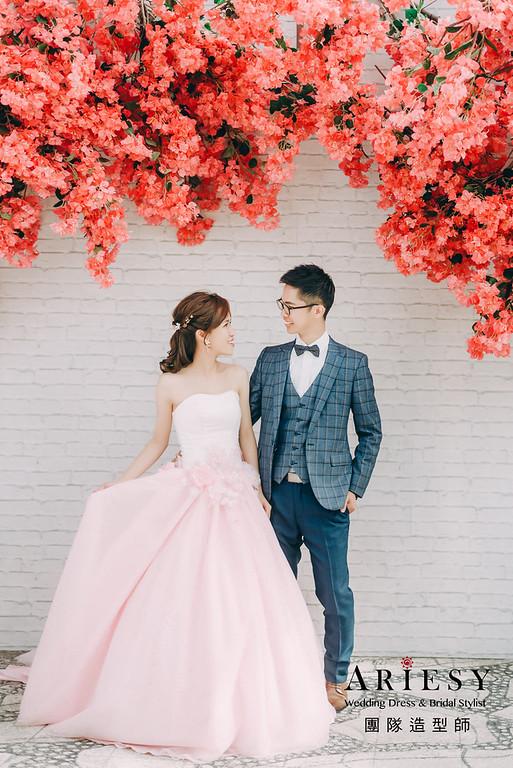 婚紗攝影,婚紗造型,自助婚紗,新娘造型,婚紗包套,攝影大嘴,新祕Hanya,新娘秘書,愛瑞思品牌訂製手工婚紗