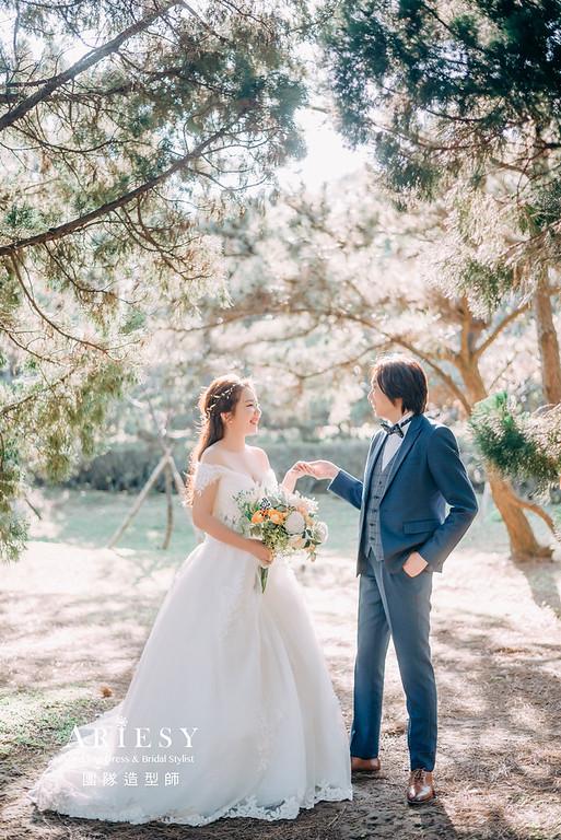 婚紗攝影,婚紗造型,攝影大嘴,新祕Hanya,新娘秘書,自助婚紗,新娘造型,白紗造型,膨鬆編髮造型