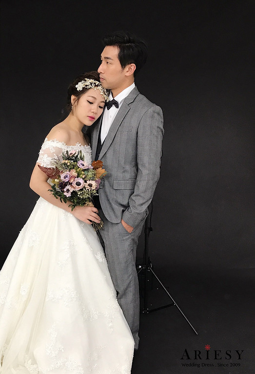 新娘造型,婚紗造型,新莊婚紗攝影,Ariesy,葉子攝影