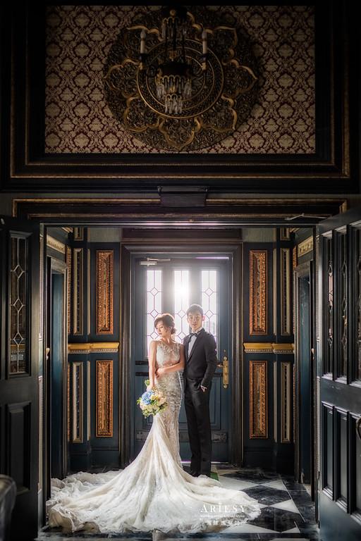 自助婚紗,婚紗攝影,蓬鬆編髮,新娘造型,新娘髮型,新娘秘書,新祕,白紗造型