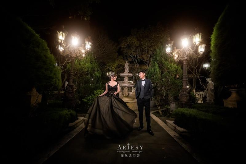 自助婚紗,婚紗攝影,蓬鬆編髮,新娘造型,新娘髮型,新娘秘書,新祕,婚紗包套