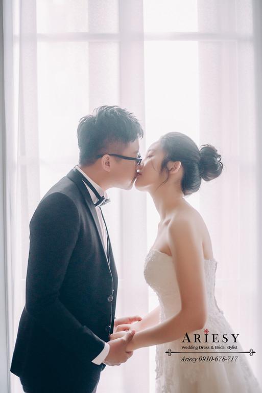 新莊婚紗攝影,新莊婚紗攝影棚,外拍白紗新娘造型,ARIESY婚紗禮服,愛瑞思攝影包套,婚攝大嘴