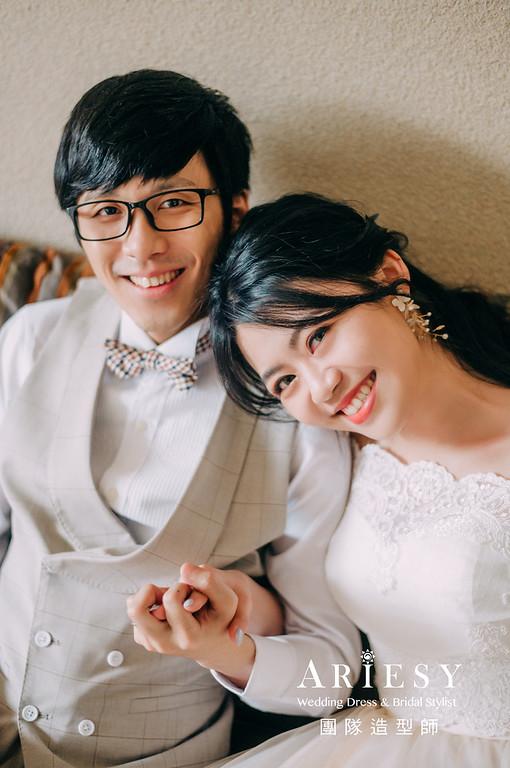 婚紗攝影,婚紗造型,黑髮新娘,新娘造型,婚紗包套,婚攝大嘴,新祕Hanya,新娘秘書,愛瑞思品牌訂製手工婚紗,新娘髮型