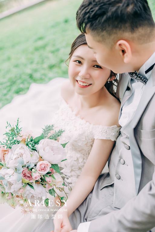 婚紗攝影,婚紗造型,桃園婚紗,白紗造型,婚紗包套,攝影大嘴,新祕Hanya,新娘秘書,愛瑞思品牌訂製手工婚紗