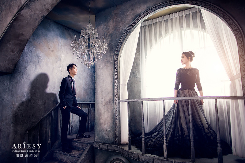 愛瑞思手工婚紗,婚攝克偉,新娘秘書,自助婚紗,婚紗包套