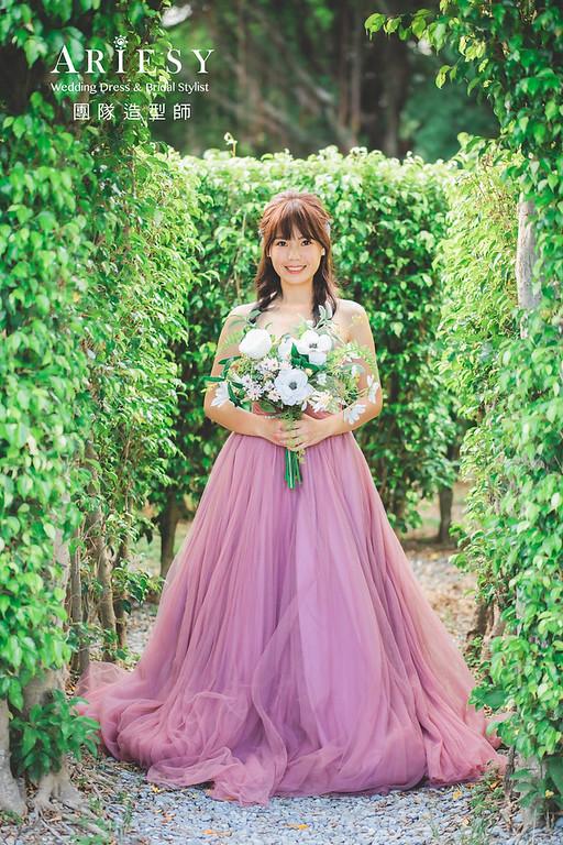 婚紗包套,白紗造型,浪漫,唯美,Nica