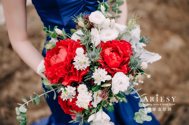 婚紗攝影,婚紗造型,新娘髮型,新娘造型,攝影大嘴,新祕Hanya,新娘秘書,愛瑞思品牌訂製手工婚紗,新娘捧花,鮮花捧花