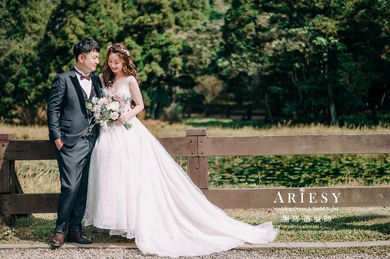 婚紗攝影,婚紗造型,白紗造型,新娘造型,婚紗包套,婚攝大嘴,新祕Hanya,新娘秘書,愛瑞思品牌訂製手工婚紗,新娘髮型,韓風,蓬鬆編髮,甜美風