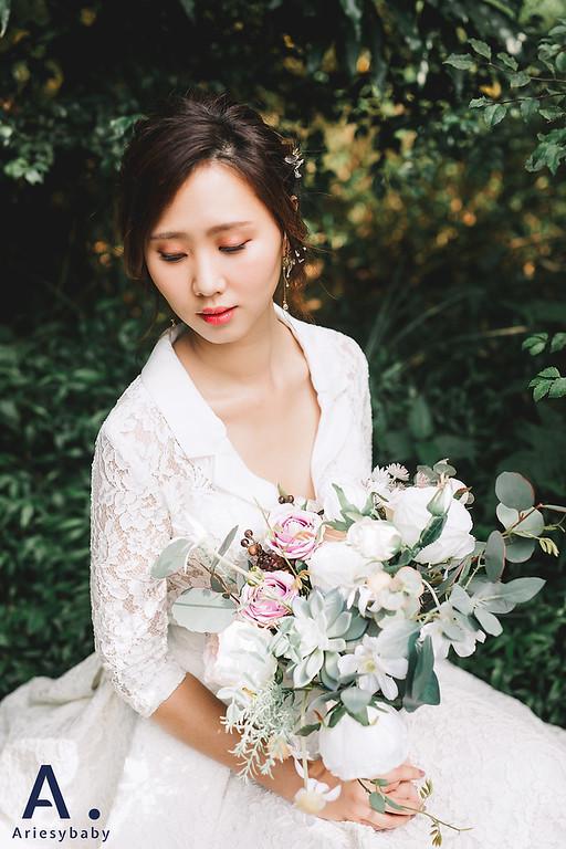 Ariesybaby造型團隊,ARIESY愛瑞思品牌訂製手工婚紗,自助婚紗,花藝新娘造型,凡登西服