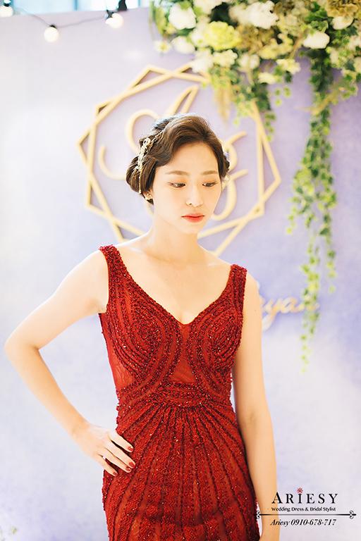 大亨小傳,復古造型,新娘髮型,新娘造型,維多麗亞酒店,韓風新娘,愛瑞思,短髮新娘,ARIESY