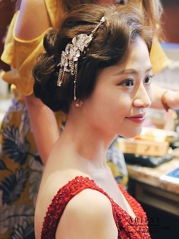 大亨小傳,復古造型,新娘髮型,新娘造型,維多麗亞酒店,韓風新娘,愛瑞思,ARIESY
