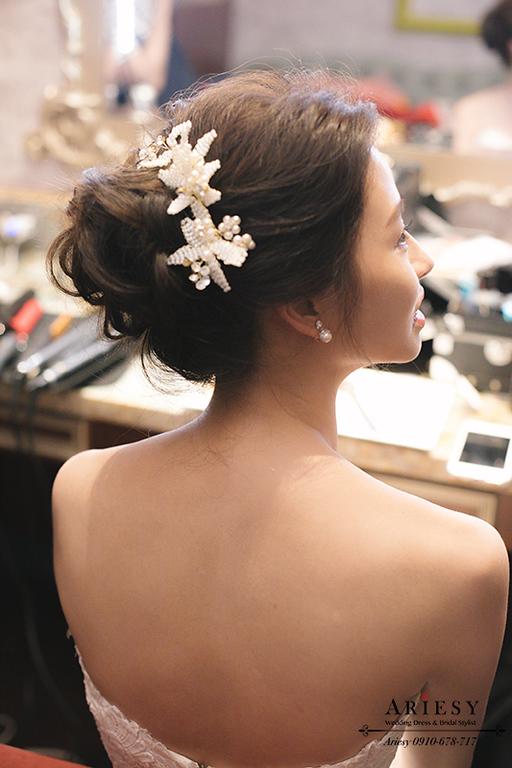 歐美新秘,新娘髮型,新娘造型,維多麗亞酒店,韓風新娘,愛瑞思,ARIESY