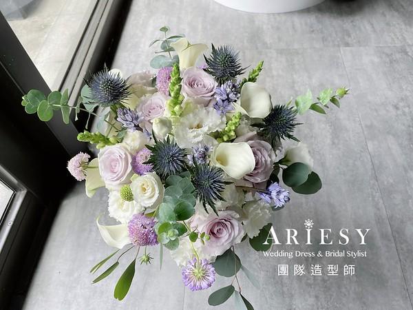 新娘捧花,鮮花新祕,新娘秘書,鮮花捧花,客製化捧花,海芋捧花