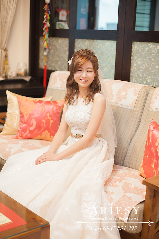 新秘,歐美風新秘,鮮花造型, bride,新娘造型