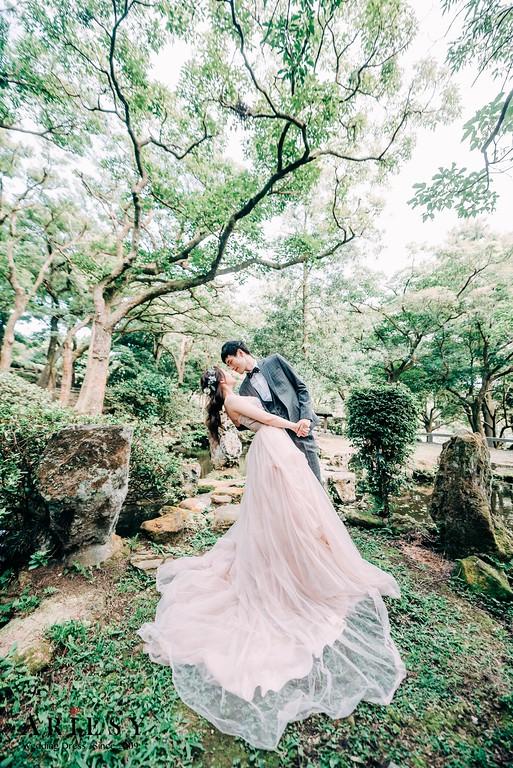 ARIESY手工婚紗,婚攝大嘴,愛瑞思新娘秘書團隊,新莊攝影工作室,裸紗手工婚紗,緞面魚尾晚宴服