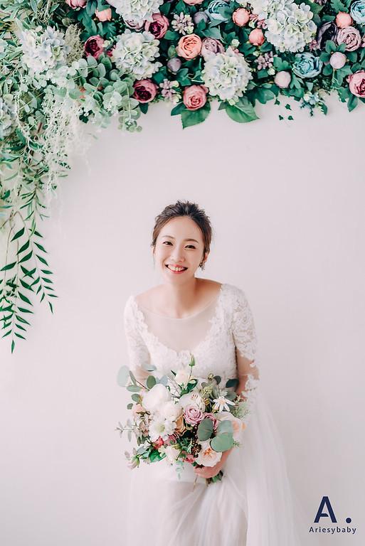 新娘髮型,新娘造型,時尚造型,龍鳳掛造型,白紗造型