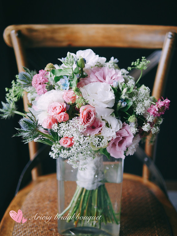 新娘捧花推薦,歐美捧花,新娘捧花,新娘捧花教學,愛瑞思鮮花新秘