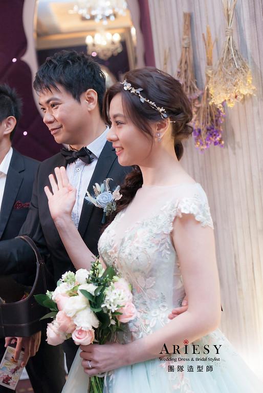 新娘髮型,編髮造型,新祕,新娘秘書,新娘造型,送客造型,花藝飾品