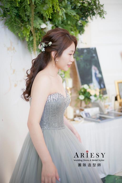 新祕,編髮造型,新祕,新娘秘書,新娘造型,自然清透妝感,花藝新祕,花藝新娘飾品