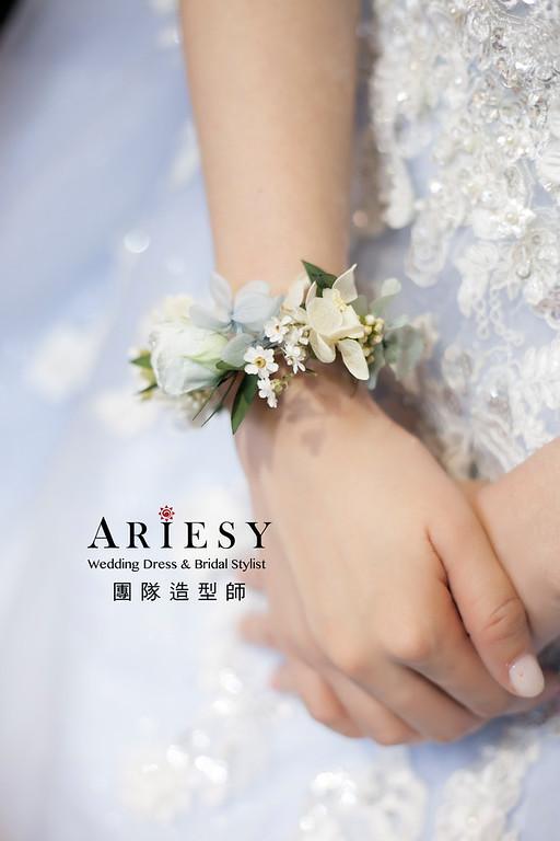送客造型,編髮造型,新娘造型,新娘祕書,花藝飾品,花藝造型新祕,清透妝感